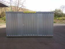 Fladafi 3m Materialcontainer, Baucontainer, Lagercontainer NEU