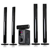 BEFREE 5.1 CHANNEL SURROUND SOUND BLUETOOTH TOWER SPEAKER SYSTEM with FM RADIO