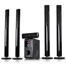BEFREE 5.1 CHANNEL SURROUND SOUND BLUETOOTH TOWER SPEAKER SYSTEM with FM RADIO
