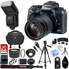 Canon EOS M5 Mirrorless Digital Camera + EF-M 18-150mm STM Lens Kit +64GB Bundle