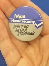Polycell Home Security Vintage badge