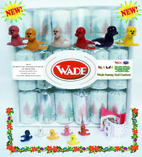 Wade Christmas Crackers - Box of 6 crackers all containing a Wade Whimsie