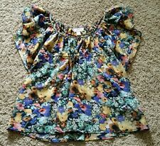 The Garden Collection by H&M Shirt size 4 - flowers/colorful