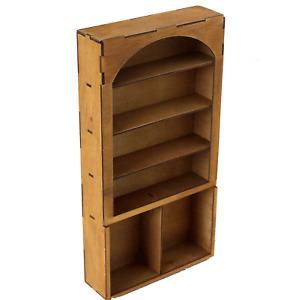 Miniature Cabinet Dollhouse Furniture Arc 14 inch 1:6 scale BJD doll Drawer