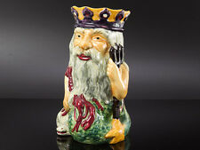 "Father Neptune 10"" Character Jug Shorter & Son and Book"