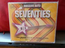 MASSIVE HITS !  SEVENTIES     3 CD  60 BRANI ARTISTI VARI