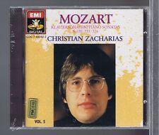 ZACHARIAS CD NEW MOZART PIANO SONATAS K 330, 533, 576