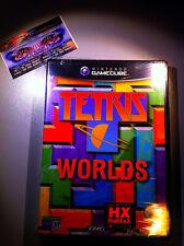 TETRIS WORLDS NUOVO SIGILLATO NEW FACTORY SEALED NINTENDO GAMECUBE RARE GC WII