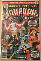 Marvel Comic Guardians of the Galaxy #7 1975 Comic Book - Marvel Presents