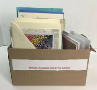 Large Lot Of 100+ Greeting Cards Christmas Holidays Get Well Mixed Unused
