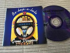 GENE VINCENT - BE BOP A LULA SPANISH CD SPAIN 97 ALTAYA - ROCK N' ROLL