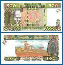GUINEA 500 Francs 1998 UNC P. 36