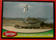 CAPTAIN SCARLET - Card #45 - Scarlet Ejects Just In Time - Cards Inc. 2001