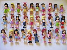 Lego 5 pc Random FRIENDS MINIFIGURE LOT W/ Headgear Great PARTY FAVORS