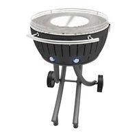Lotusgrill XXL il barbecue senza fumo versione con  le ruote colore NERO cm.60