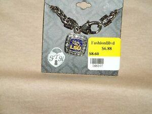 LSU Tigers School Spirit Bracelet