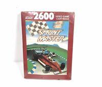 Sprint Master Atari 2600 NEW MINT FACTORY SEALED 1988