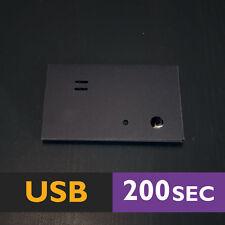 200s STICKON (BLACK) USB MP3 light sensor voice module music box sound speaker