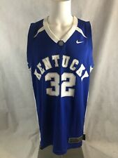 Nike Elite Kentucky Wildcats Joe Crawford NCAA Blue Away Basketball Jersey Sz XL