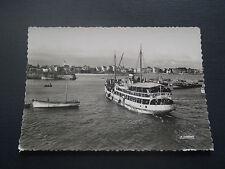 CPM Quiberon Arrivée du bateau de Belle Île à Porte Maria