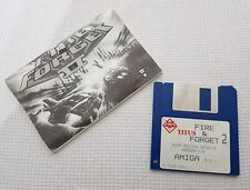 Fire and Forget 2, Amiga Game. disquette et manuel d'instructions uniquement