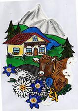 Fensterfolie Window Color Fensterbild WiCo Alpenlandschaft (046)