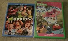 The Muppets (Two-Disc Blu-ray/DVD Combo) & Abby In Wonderland DVD Sesame Street