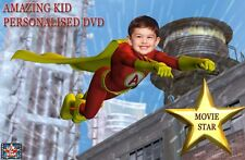 Amazing Kid Personalised DVD starring YOU!!!