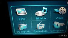Tv portatile Toshiba Journe M400 Mp3 DVB-T Radio JPG MPEG4 XVID Vob Touch Screen