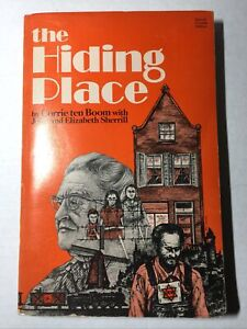 the Hiding Place - Corrie Ten Boom with Sherrill, Vintage Paperback, 1971