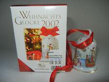 Hutschenreuther Weihnachtsglocke Porz. 2002 Hansestadt (int. Art. 2002-2)