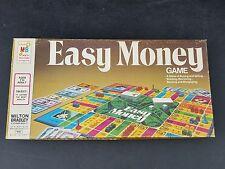 vintage Easy Money board game 4620 Milton Bradley 1974 open box sealed partS