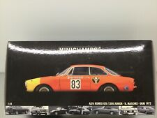 Minichamps 1:18 Alfa Romeo GTA 1300 Junior DRM 1972 Modell Nr: 100 721283