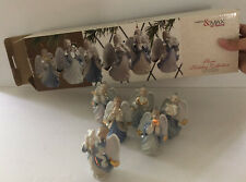 Madison & Max at Home Hope Collection Holiday Set of 6 Porcelain Angel Ornaments