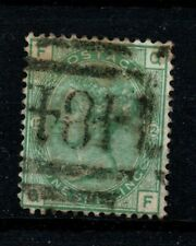 Gb Victoria Fine Used Sg 150 1s Green Plate 12 Position Qf mark as scan