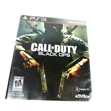 Call of Duty Black Ops Playstation PS3 Network Activision Rating M17+ Shooter