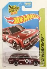 Hot Wheels 71 Datsun Bluebird 510 Wagon Super Treasure Hunt Textured Grille🏁