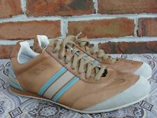 a5a199354e Ellesse Womens Fashion Sneakers Athletic Shoes Brown Pigskin Lining size 9.5
