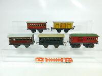 BR423-2 #5x Kraus-Fandor Escala 0 Bastler-Blechwagen: 560+5412+207805 Etc.