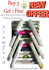 STAMFORD INCENSE STICKS ADD 4 PAY FOR 3 FREE P&P free gift with offer 85 scents
