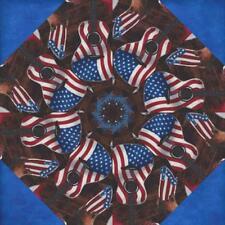 "6 - 10 "" COWBOY USA Kaleidoscope Block Quilt Kit Pre Cut  LAST OF THE 10"" BLOCKS"