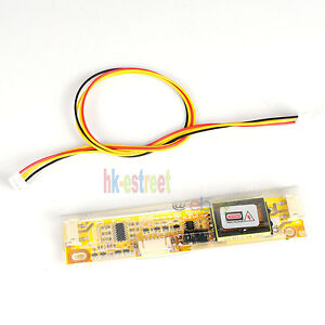 LCD Inverter Board 2 Lamp CCFL Backlight Driver 3 Pin Large Connector Port