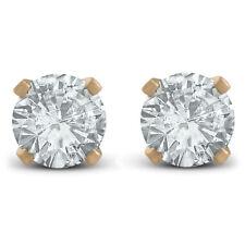 3/4ct Diamond Studs 14K Yellow Gold