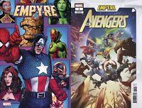 Marvel Comics Empyre Avengers #1 Main + Jacinto Variant NM 7/22/2020