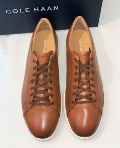 Cole Haan Men's Grand Crosscourt II Sneaker Tan Leather Style C26521 NIB SZ -11