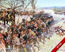 AMERICAN REVOLUTION BATTLE OF GUILFORD COURT HOUSE OIL PAINTING ART CANVAS PRINT
