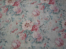 Sanderson Curtain Fabric 'Giselle' Dove/Pink 3.35 METRES - Fabienne Prints Coll