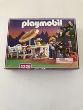 Playmobil Victoria Mansion 5326 Patio Set NEW Sealed