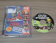 G-FORCE Nintendo Gamecube Gioco magizine Zelda, CAPCOM & più DVD-RARO