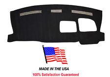 2003-2015 Chevy Van Express 3500 Black Carpet Dash Cover Mat Pad CH66.1-5